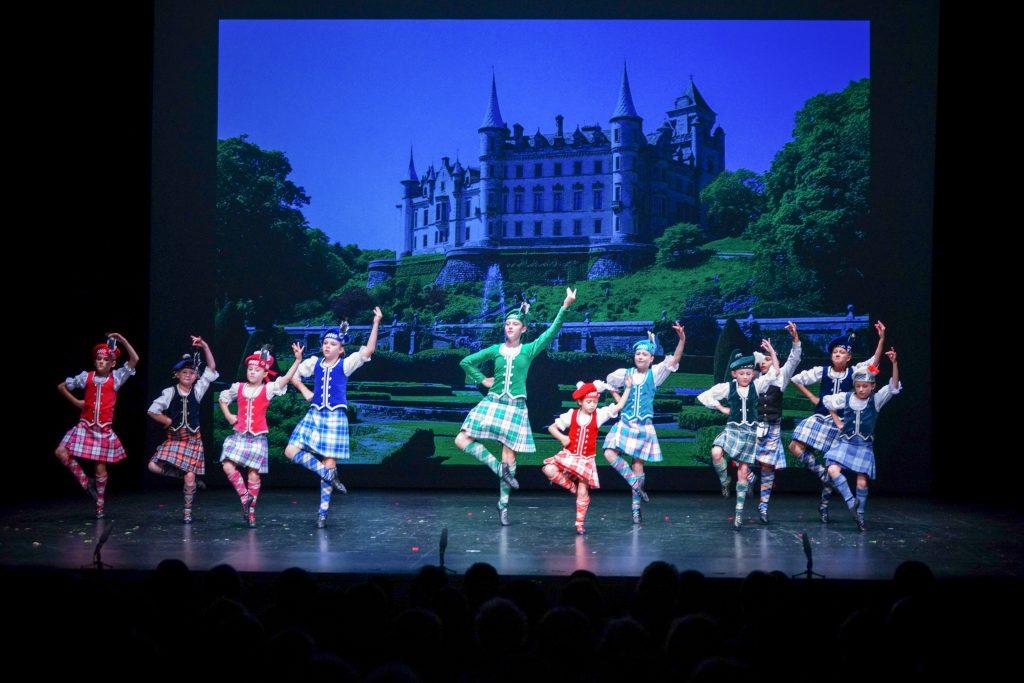 Kimberley Mavor School of Dance performing Scottish Dance