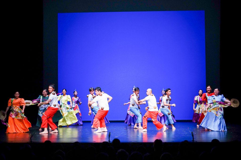 Waitaki Filipino Inc performing traditional dances