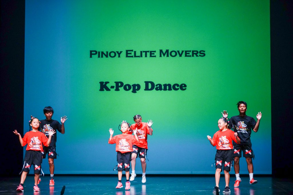 Pinoy Elite Movers performing Modern K Pop